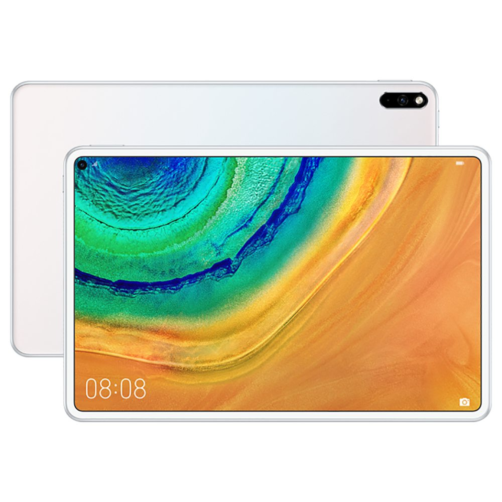 HUAWEI MatePad Pro WIFI Tablet PC HiSilicon Kirin 990 Octa Core Mali G76 10.8 Inch IPS 2560 * 1600 Android 10.0 8 GB RAM 256 GB ROM - Wit