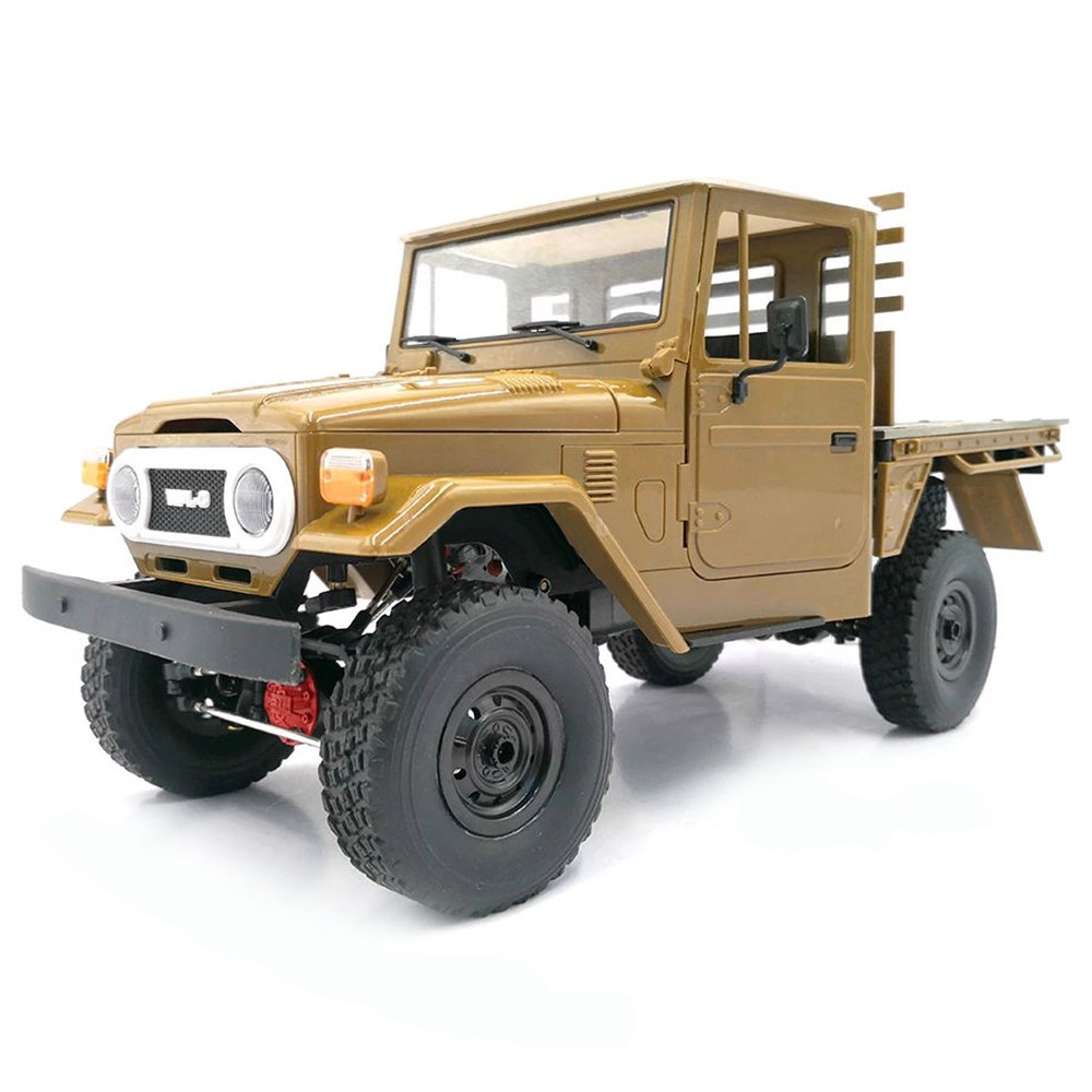 WPL C44KM FJ45 2.4G 1/16 4WD Off-road Rock Crawler Climbing Vehicle RC Car Kit - Brown фото