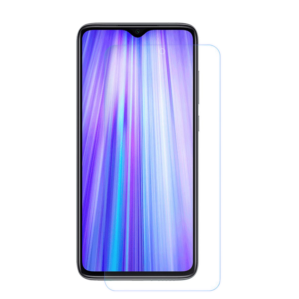Xiaomi Redmi Note 8 Pro 6.53 Inch 4G LTE Smartphone MTK Helio G90T 6GB 128GB 64.0MP + 8.0MP + 2.0MP + 2.0MP Quad Rear Cameras MIUI 10 Type-C Global Version + Glass Screen Protector - White