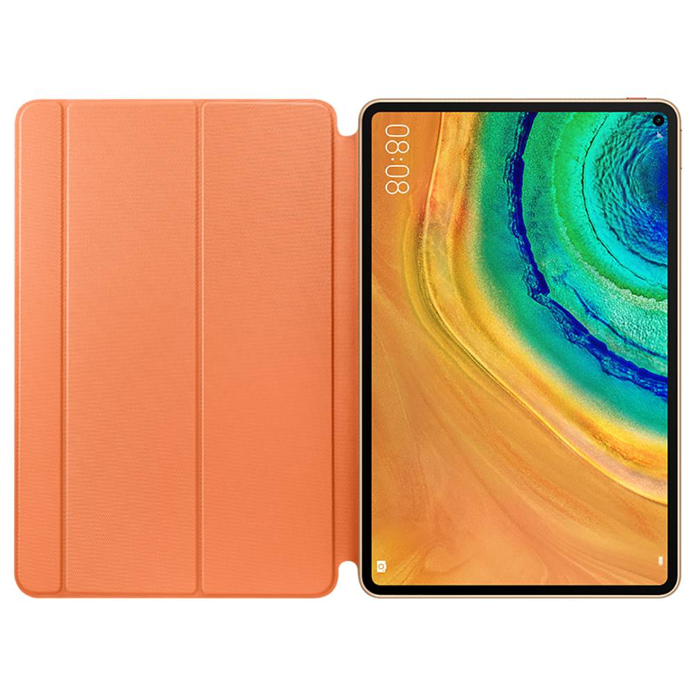 HUAWEI Protective Smart PU Leather Case For Matepad Pro - Orange фото