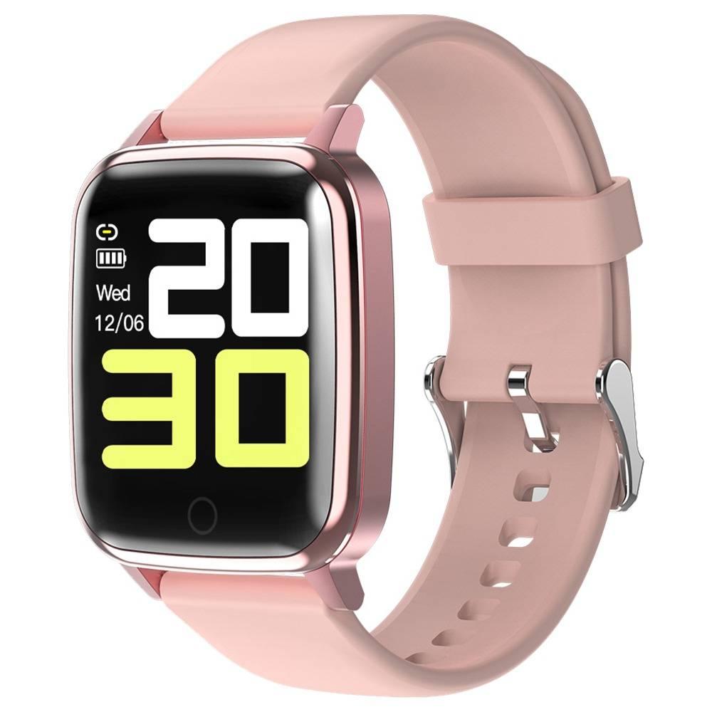 جهاز تتبع اللياقة البدنية من ماكيبس R1 SmartWatch 1.3 Inch IPS شاشة مقاومة الماء ومعدل ضربات القلب ومراقبة ضغط الدم والنوم