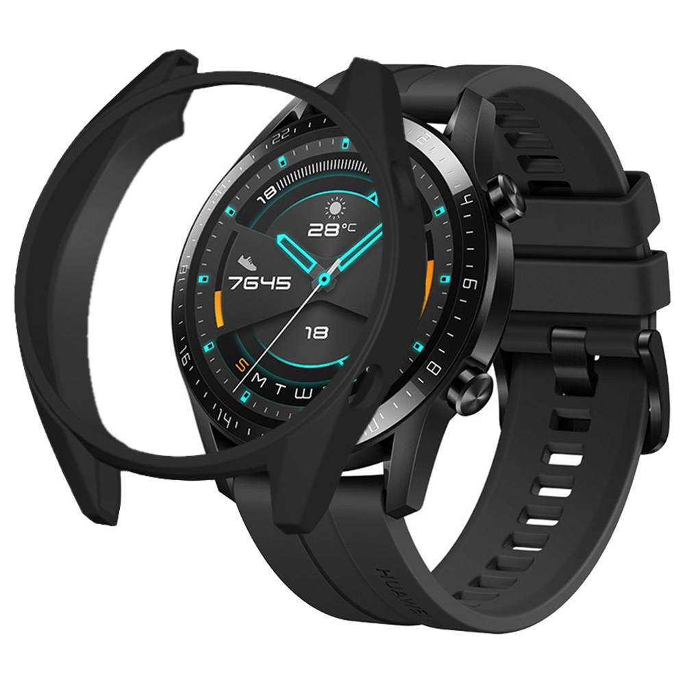 Protective Cover Case For HUAWEI GT / GT 2 Smart Sports Watch 46mm - Black