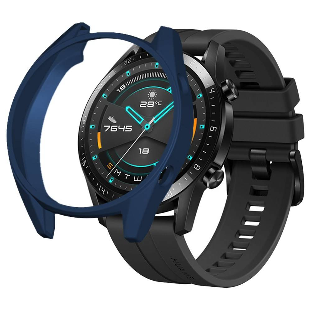 Protective Cover Case For HUAWEI GT / GT 2 Smart Sports Watch 46mm - Blue фото