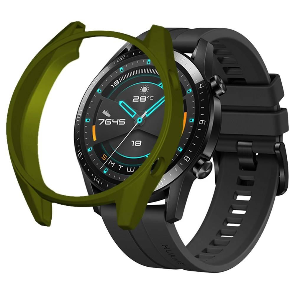 Schutzhülle für die HUAWEI GT / GT 2 Smart Sportuhr 46mm - Army Green