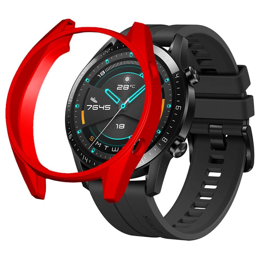 Protective Cover Case For HUAWEI GT / GT 2 Smart Sports Watch 46mm - Red