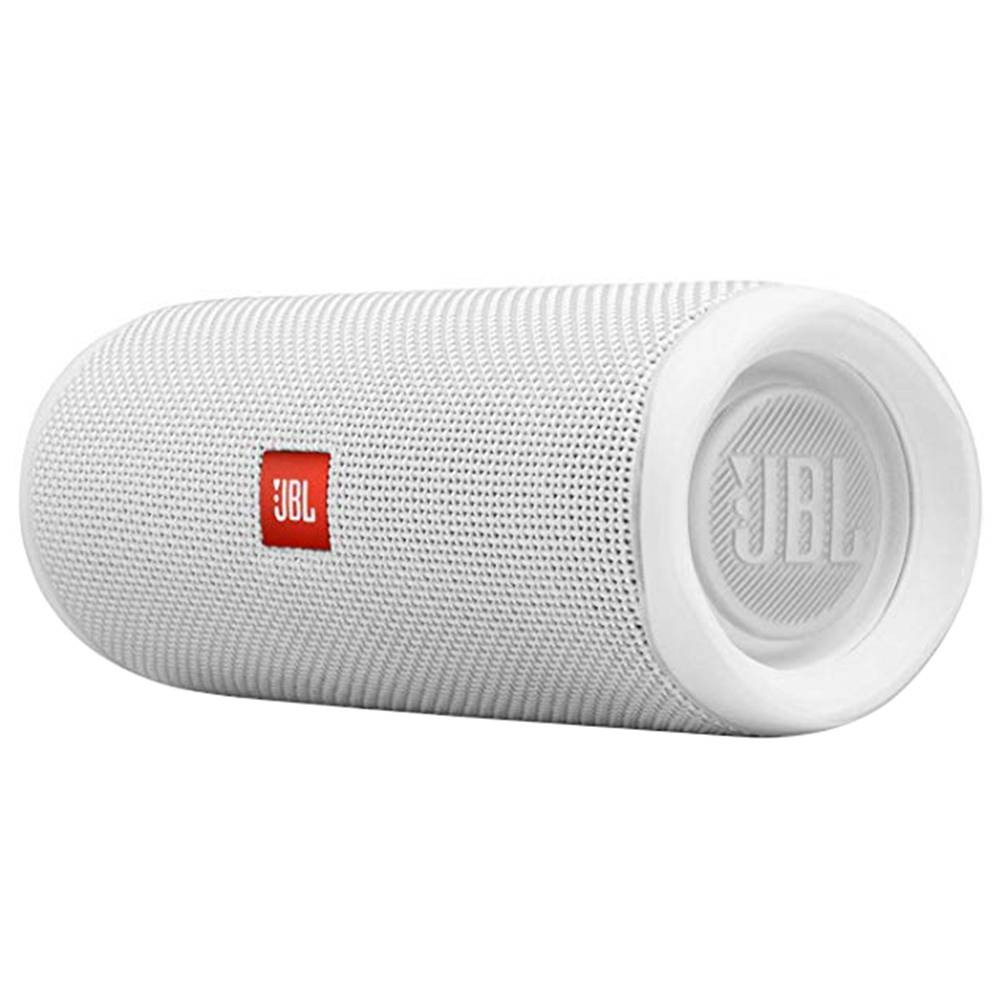 JBL FLIP 5 20W 44mm Driver Bluetooth Speaker USB-C Quick Charge IPX7 Waterproof 12 Hours Playtime - White фото