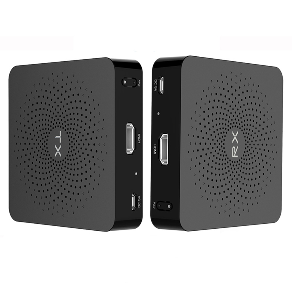 Measy W2H 4K Wireless HDMI Audio and Video Transmitter 60GHz 30m Wireless Transmission Distance - Black