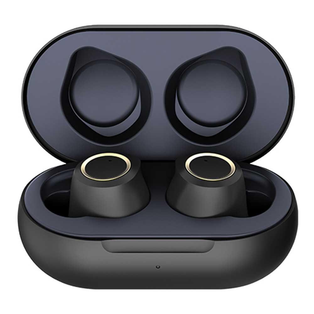 T2 Bluetooth 5.0 6D Stereo Sound TWS Earphones Siri Independent Usage Type-C IPX5 - Black