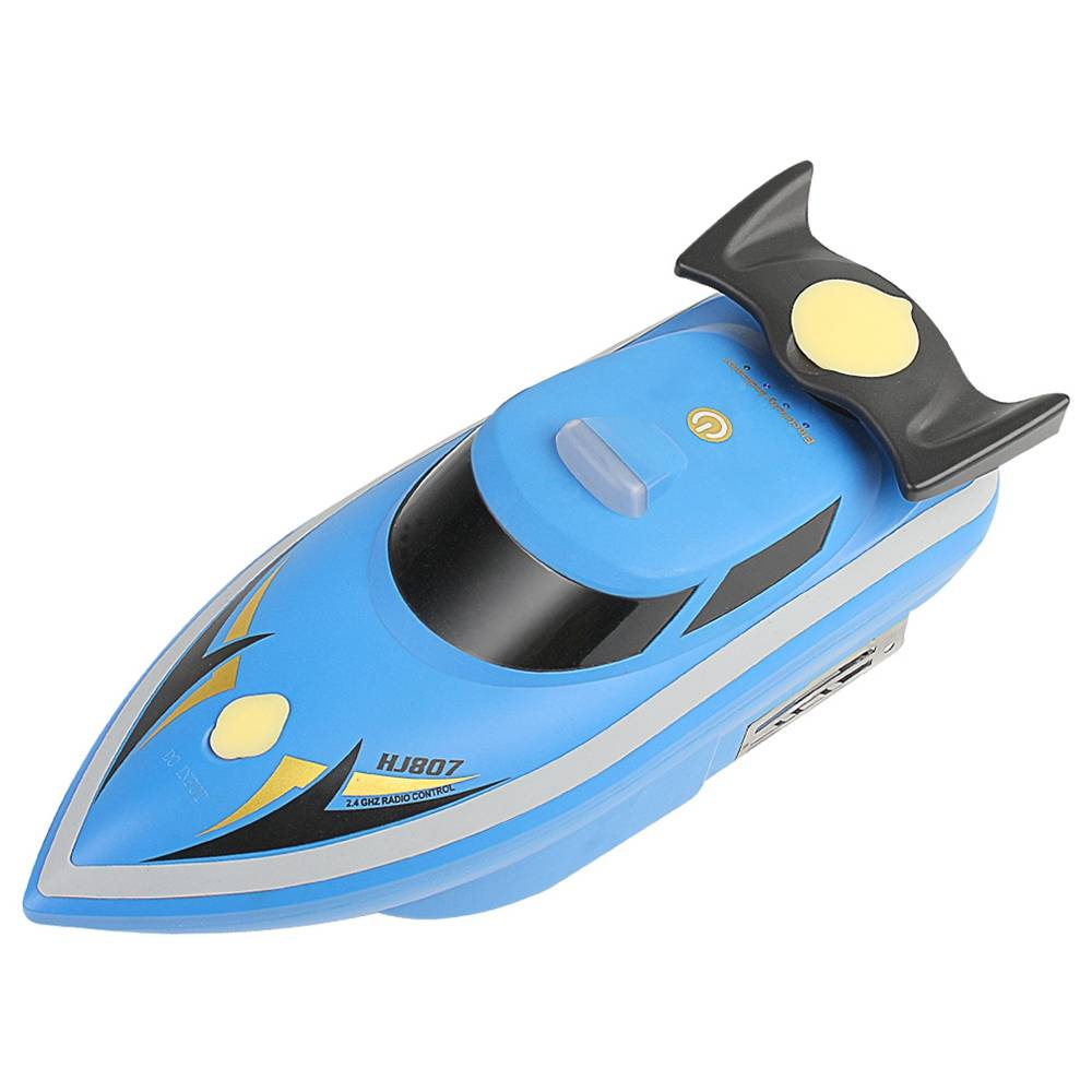 HONGXUNJIE HJ807 2.4G Electric Fishing Bait Remote Fish Finder Pull The Net Wreck Ship RC Boat With Bag - Blue