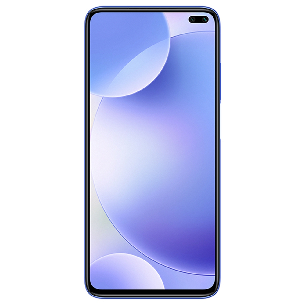 Xiaomi Redmi K30 CN Version 5G Smartphone 6.67 Inch FHD+ Screen Snapdragon 765G Octa Core 6GB RAM 64GB ROM Android 10.0 Dual Front Quad Rear Cameras 4500mAh Large Battery - Blue