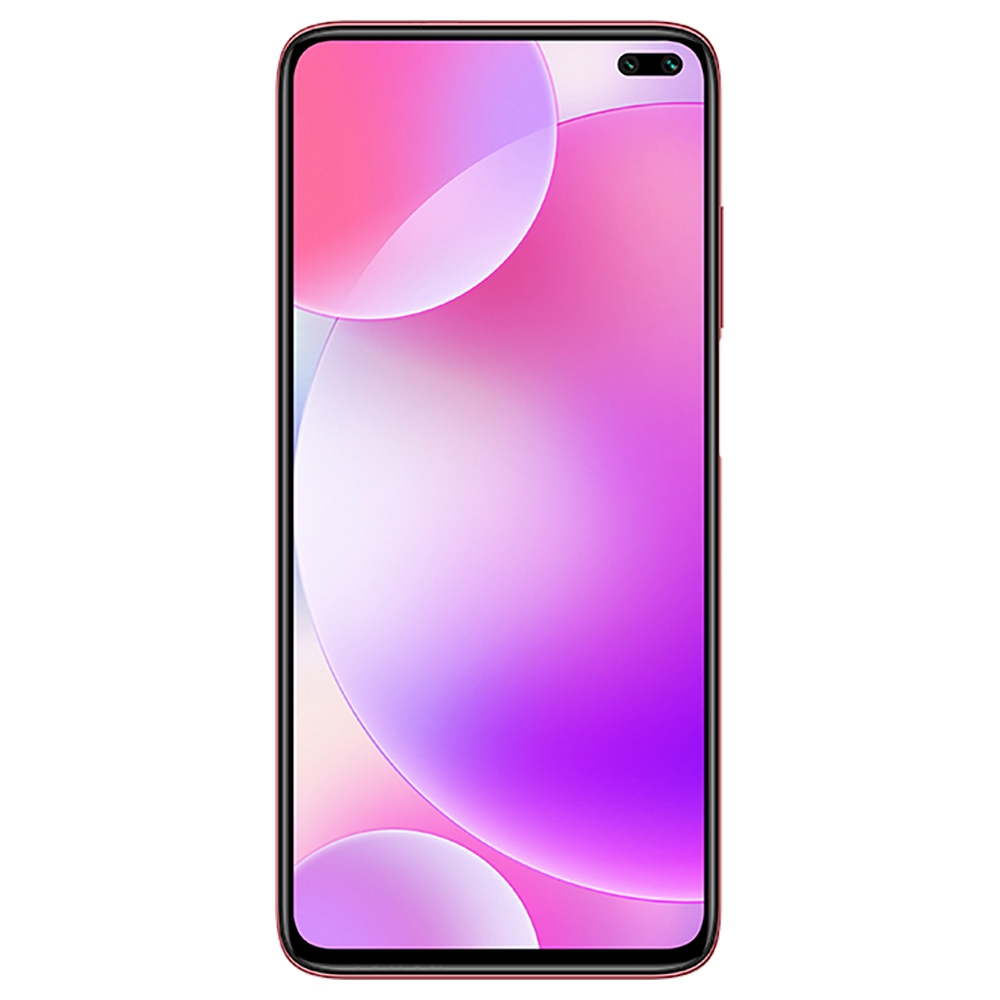 Xiaomi Redmi K30 CN Version 5G Smartphone 6.67 Inch FHD+ Screen Snapdragon 765G Octa Core 8GB RAM 128GB ROM Android 10.0 Dual Front Quad Rear Cameras 4500mAh Large Battery - Red