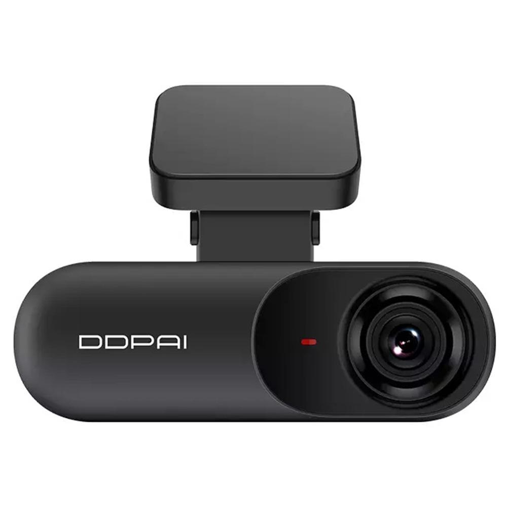 DDPai Mola N3  Car DVR Driving Recorder 1600P HD AI Assistance 140 Degree FOV F1.8 2.4GHz WiFi Loop Recorder 32GB Card Smart Buck Line - Black