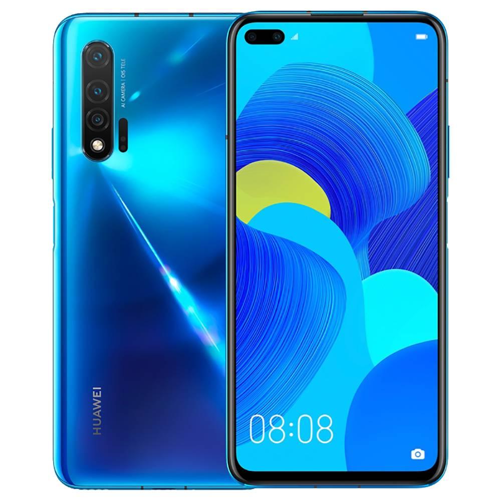 HUAWEI Nova 6 CN Version 4G LTE Smartphone 6.57 Inch FHD+ Screen Kirin 990 Octa Core 8GB RAM 128GB ROM Android 10.0 Three Rear Camera 4100mAh Large Battery - Blue фото