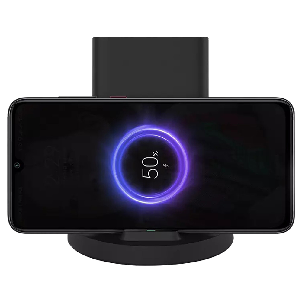 Xiaomi Wireless Charger 20W Vertikal Horizontal Ständer Halter für Xiaomi Mi 9 / Mi 9 Pro - Schwarz