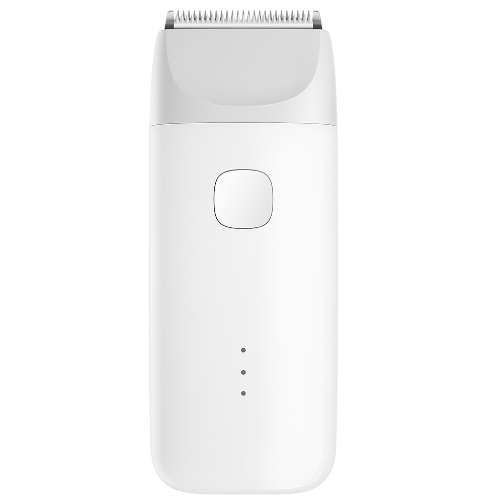 Xiaomi MiTU Baby Hair Clipper Ceramic Blades IPX7 Water Resistant Multiple Cutting Lengths Haircut - White