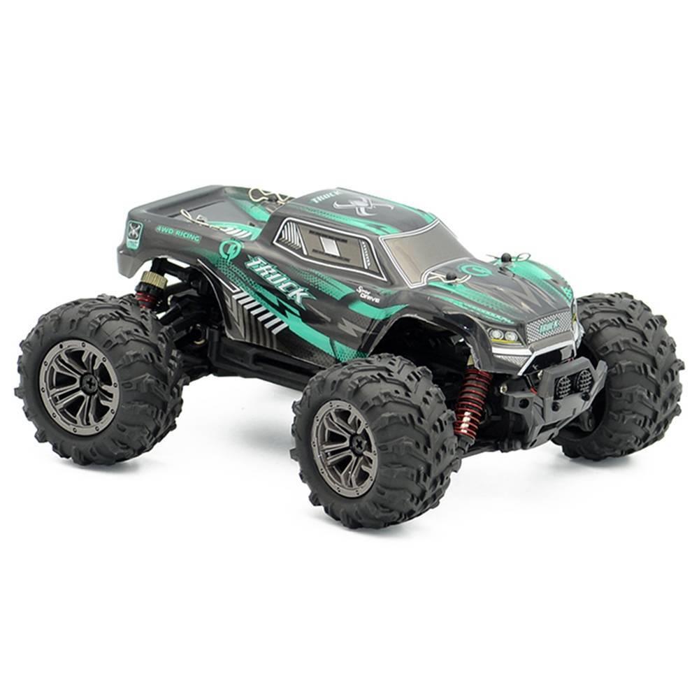 Xinlehong játékok 9145 1 / 20 2.4G 4WD nagy sebességű terepjáró Monster Truck RC autó RTR - zöld