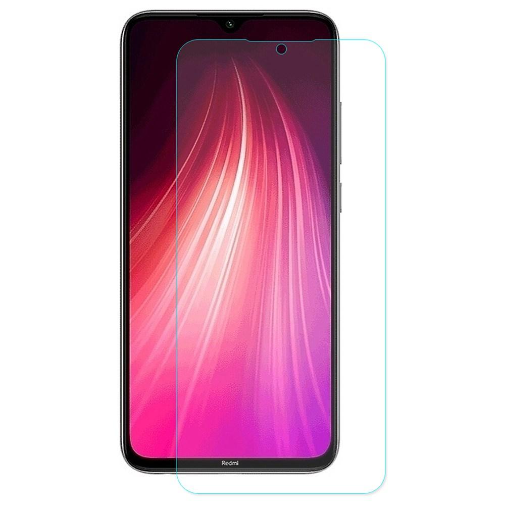 Xiaomi Redmi Note 8T用のハットプリンス防爆強化ガラスHDスクリーンプロテクター-透明