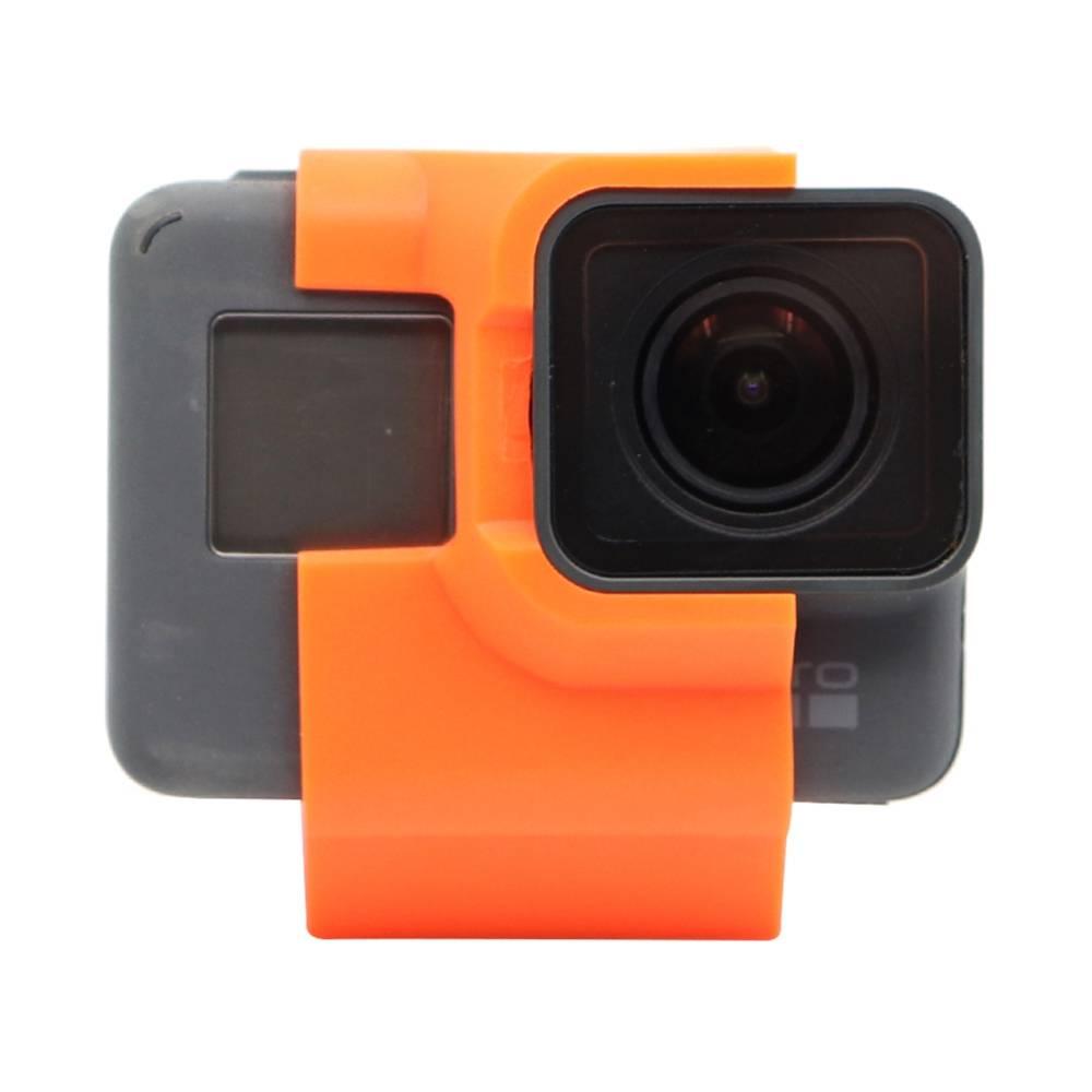 Hüllő TPU Action Sport kamera tartó 30 fokozatú ferde FPV kamera tartó Gopro 5 / 6 / 7 FPV verseny drónhoz - narancssárga