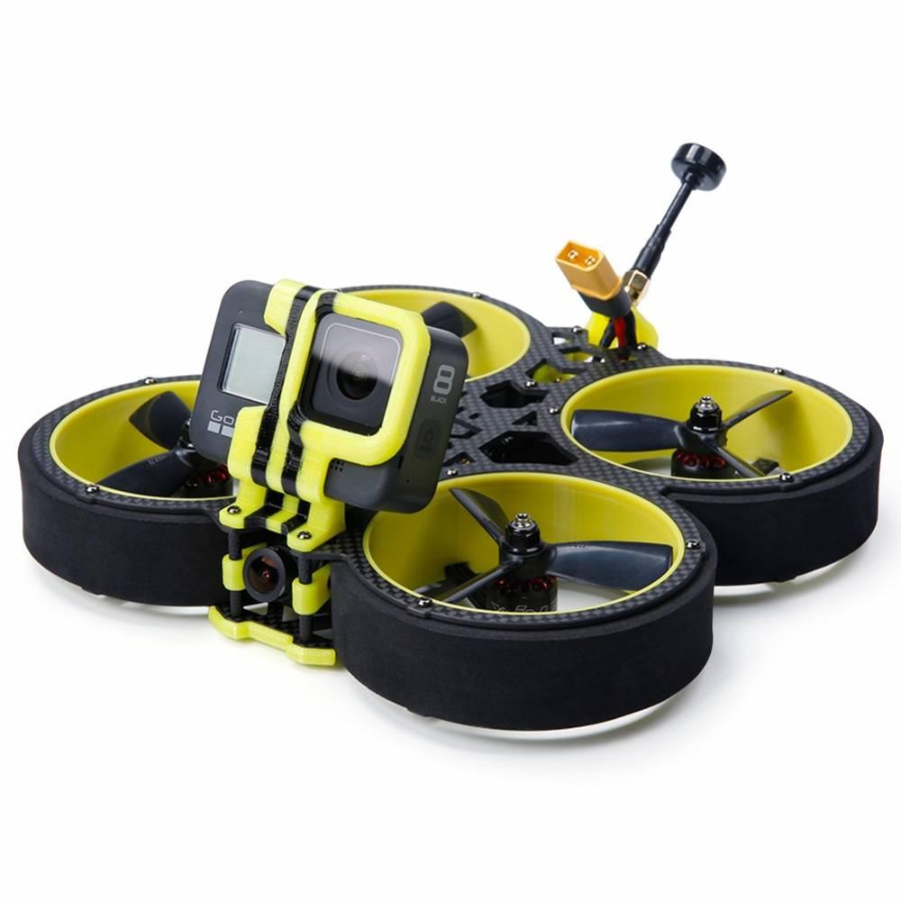 iFLIGHT BumbleBee CineWhoop 142mm 3inch FPV Racing Drone con F4 40A 500mW VTX Cámara Caddx Ratel BNF - Receptor Frsky MINI XM +