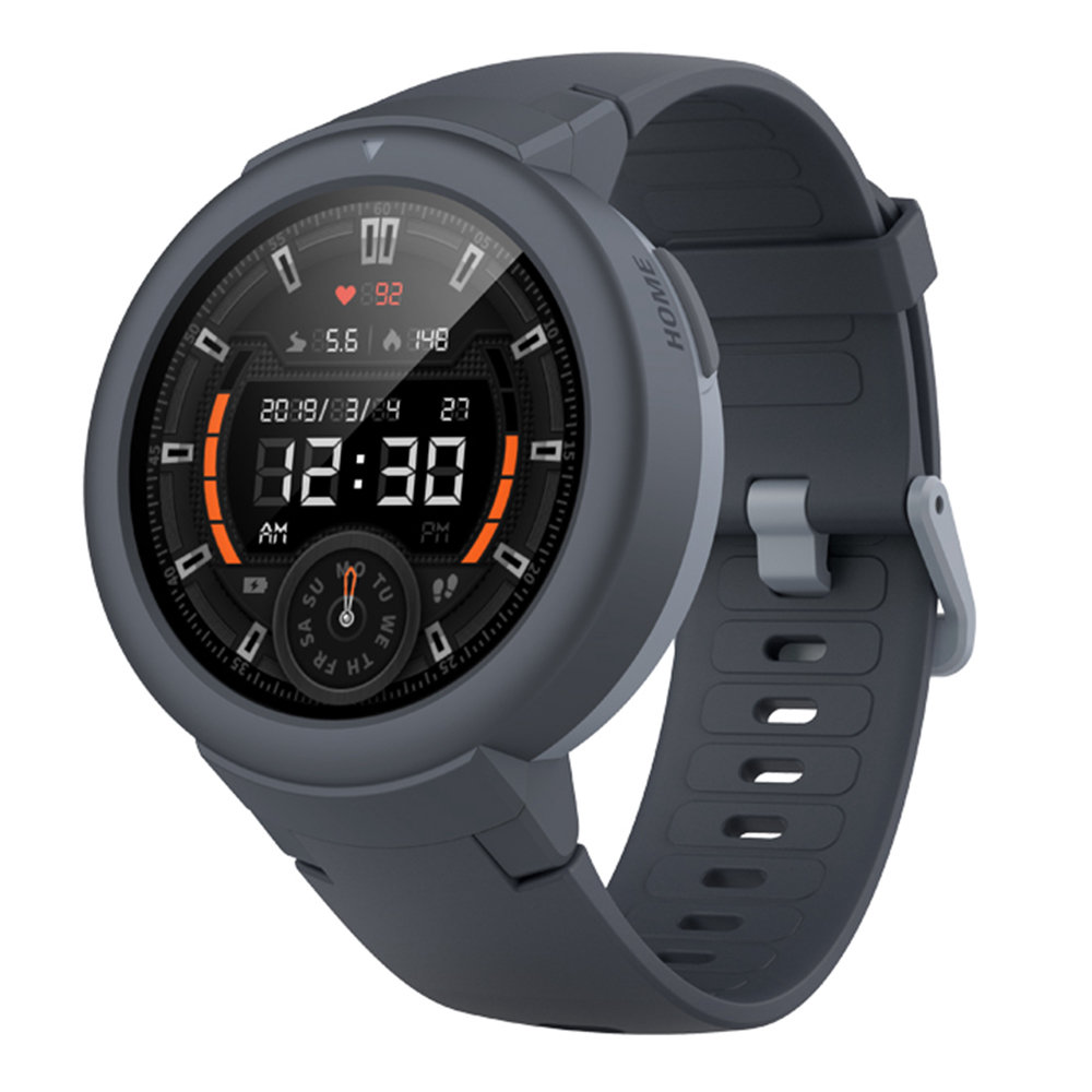 Huami AMAZFIT Verge Lite Smart Watch 1.3 Inch AMOLED Screen Heart Rate Monitor Built-in Sports Modes - Gray