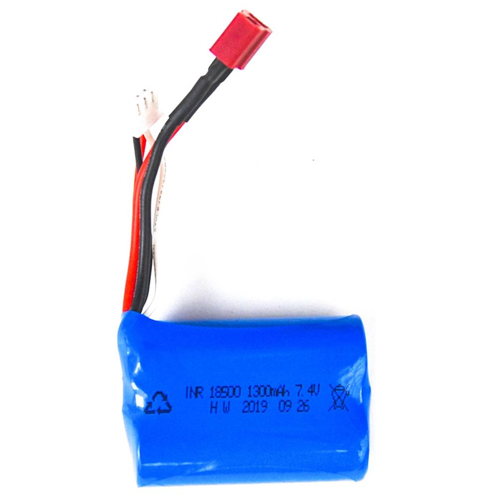HAIBOXING 16889 2.4G 4WD 1/16 Off-road Monster Truck RC Car Repuestos 7.4V 1300mAh Batería de iones de litio