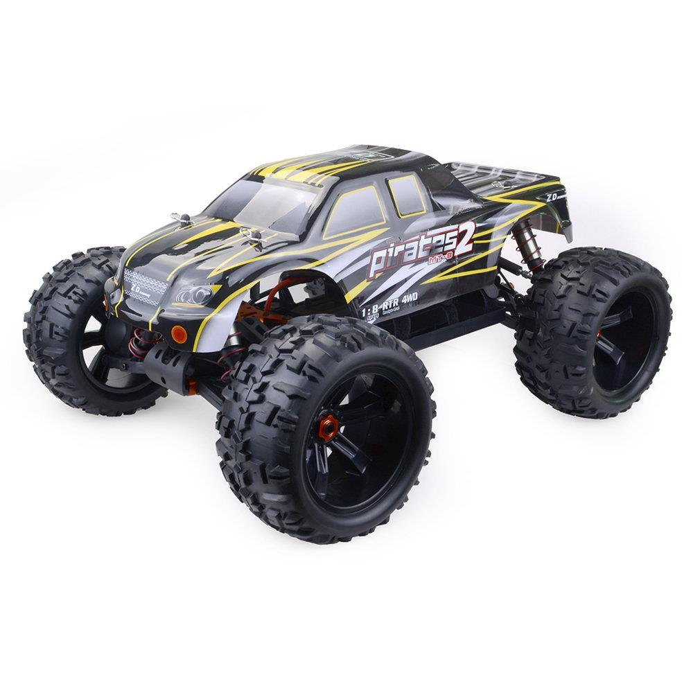ZD Racing 9116-V3 2.4G 1: 8 4WD 120A ESC Brushless Monster Truck fuoristrada RC auto senza batteria - ARR