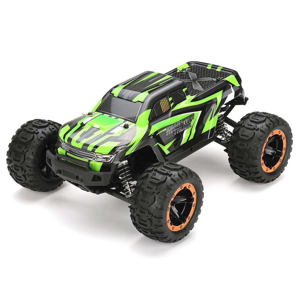 SG 1601 1/16 2.4G 4WD fuoristrada senza spazzole Monster Truck RC Car Vehicle RTR - Verde