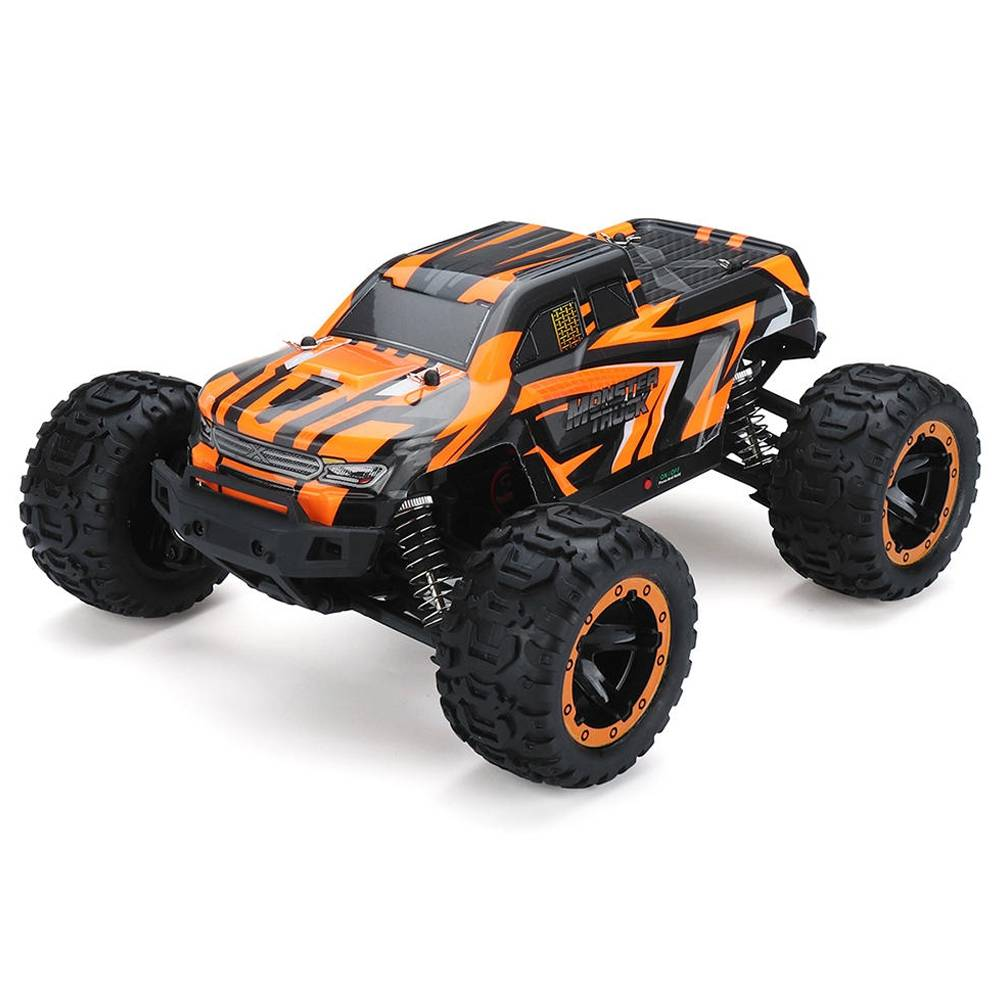 SG 1601 1/16 2.4G 4WD fuoristrada senza spazzole Monster Truck RC Car Vehicle RTR - Arancione
