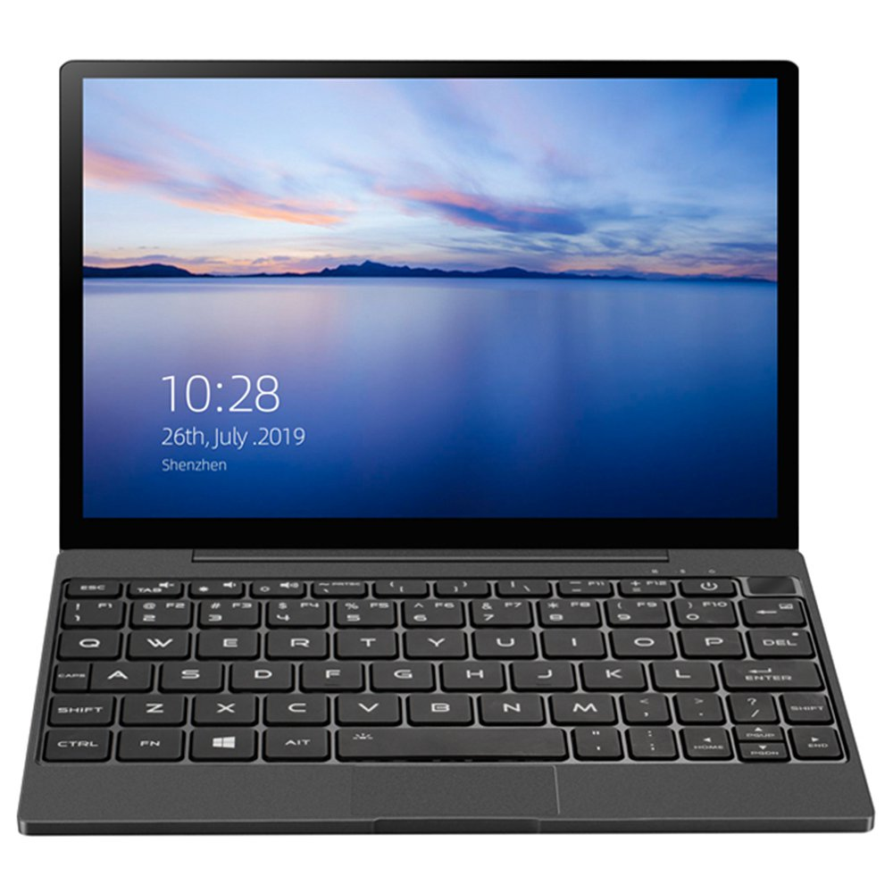 "Magic-Ben MAG1 4G LTE Pocket Laptop 8.9"" IPS Touchscreen 2560*1600 Intel Core m3-8100y 8GB Memory 256GB SSD Full metal Slim body Ultra Light Backlit Keyboard Fingerprint Window 10 - Black"