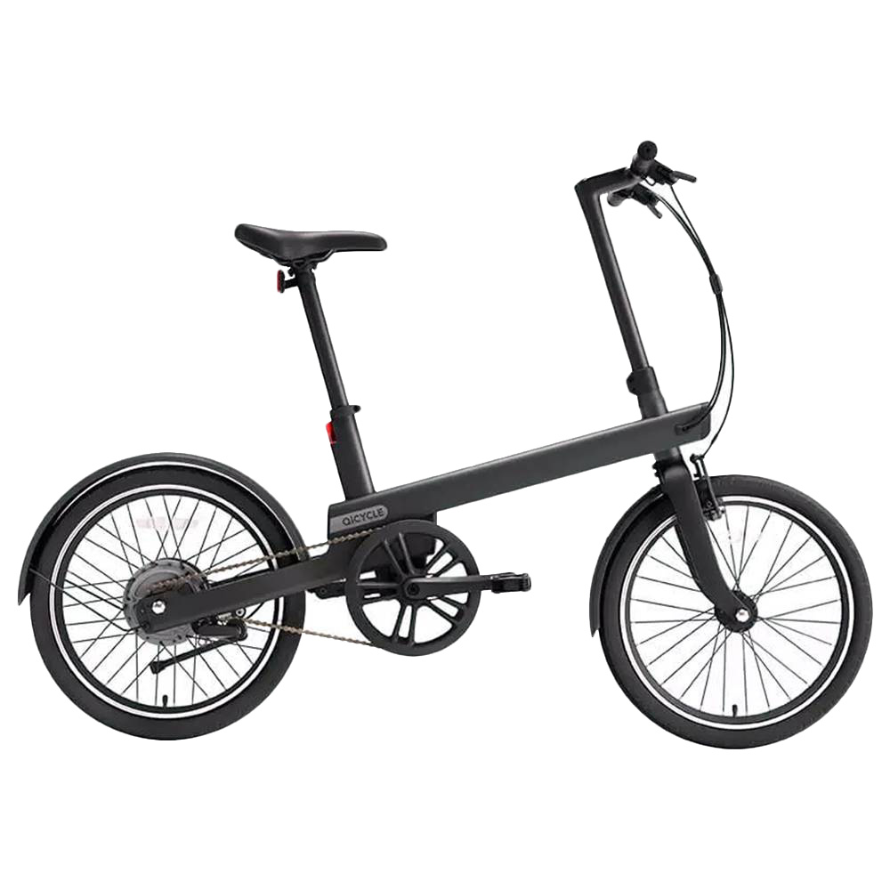 QiCYCLE TDP02Z Electric Bike 20 Inch Tires 180W Motor Up To 40km Range Integrated Handlebar Light-Sensitive Display - Black фото