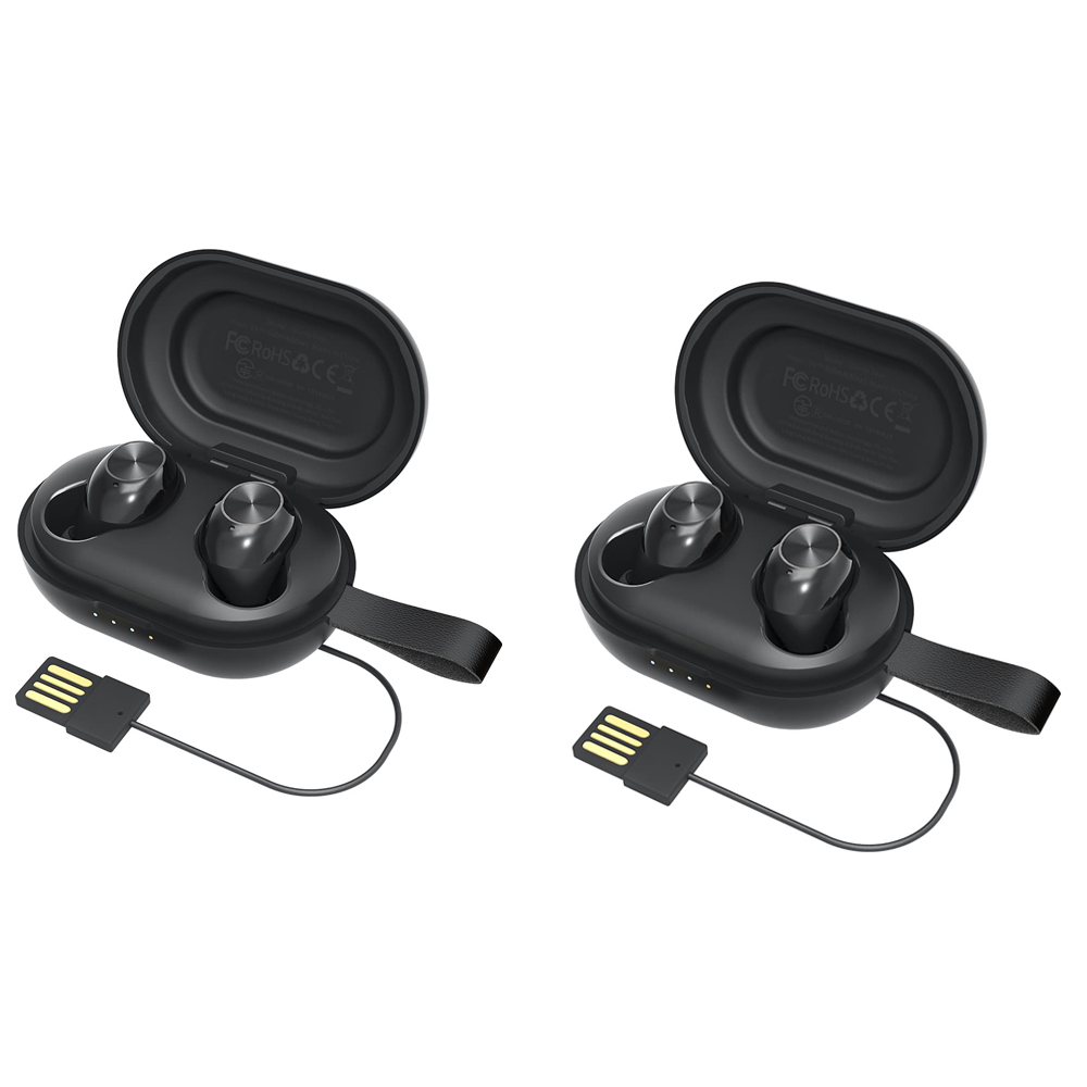 [2パック] Tronsmart Spunky Beat Bluetooth 5.0 TWS CVC 8.0 Earbuds Qualcomm QCC3020 Independent Usage aptX / AAC / SBC 24H Playtime Siri Google Assistant IPX5
