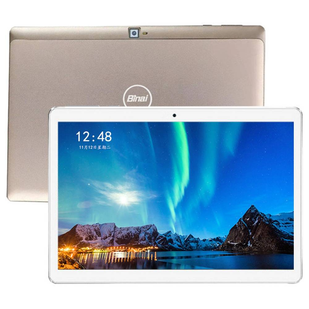 Tablet PC Binai Mini101 Ultimate Edition 4G LTE 10.1 pollici Schermo IPS MediaTek MTK6763 Octa Core Android 9.0 2GB RAM 32GB ROM - Oro