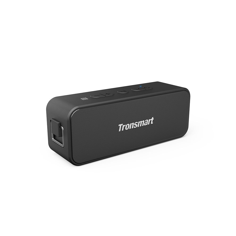 Tronsmart T2 Plus 20W Bluetooth 5.0 Altavoz 24H Tiempo de reproducción NFC IPX7 Barra de sonido impermeable con TWS, Siri, Micro SD