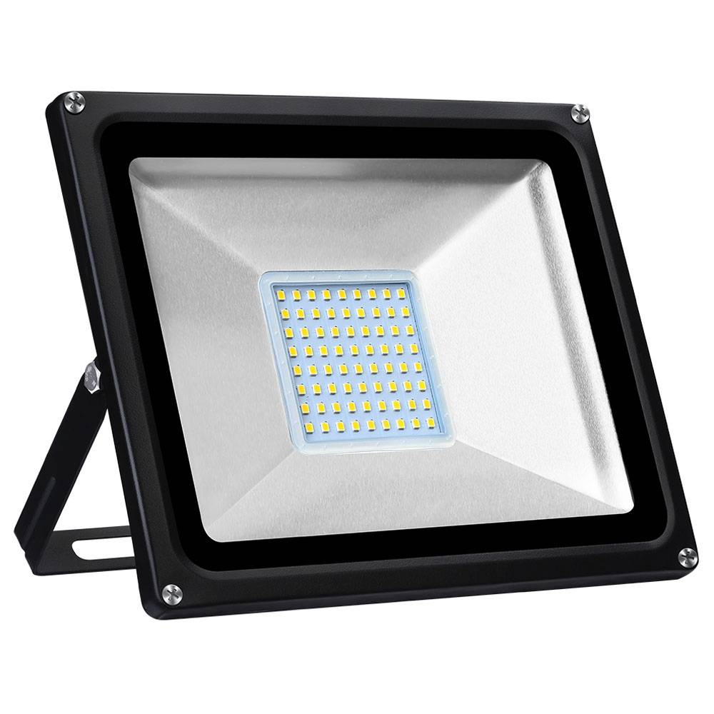 Tycolit 50W 220V LED Flood Light 80lm/W 3000K IP65 Waterproof For Yard Garden Playground Warm White Light - White