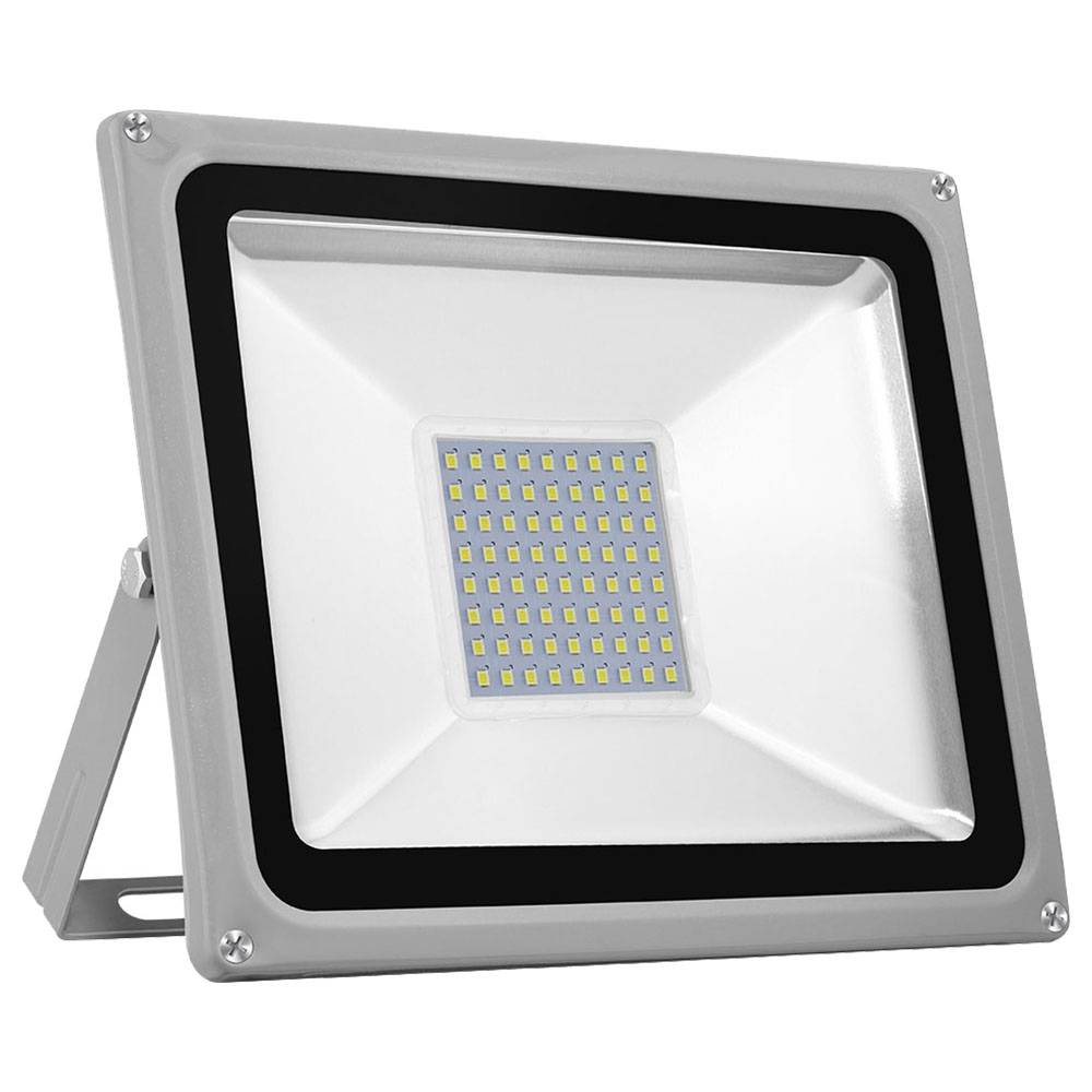 Tycolit 50W 220V LED Flood Light 80lm/W 6500K IP65 Waterproof For Yard Garden Playground White Light - White