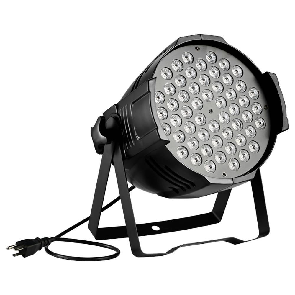 Tycolit 80W RGB LED Stage Light 7 couleurs d'éclairage pour Disco Club Party DJ Show Wedding - Noir