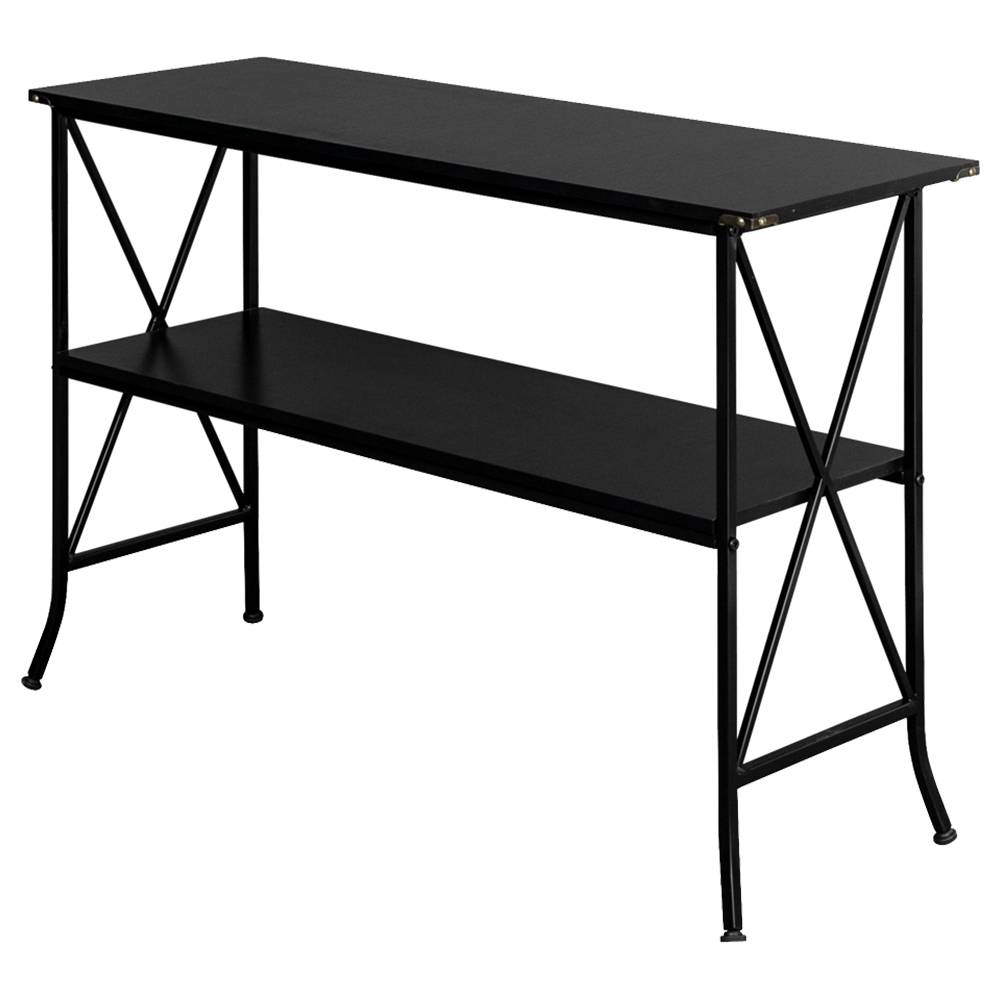 Artiset 2 Tier Console Table Black