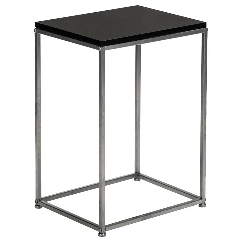 Artisasset Side End Table Single Layer Metal Frame For Living Room - Black