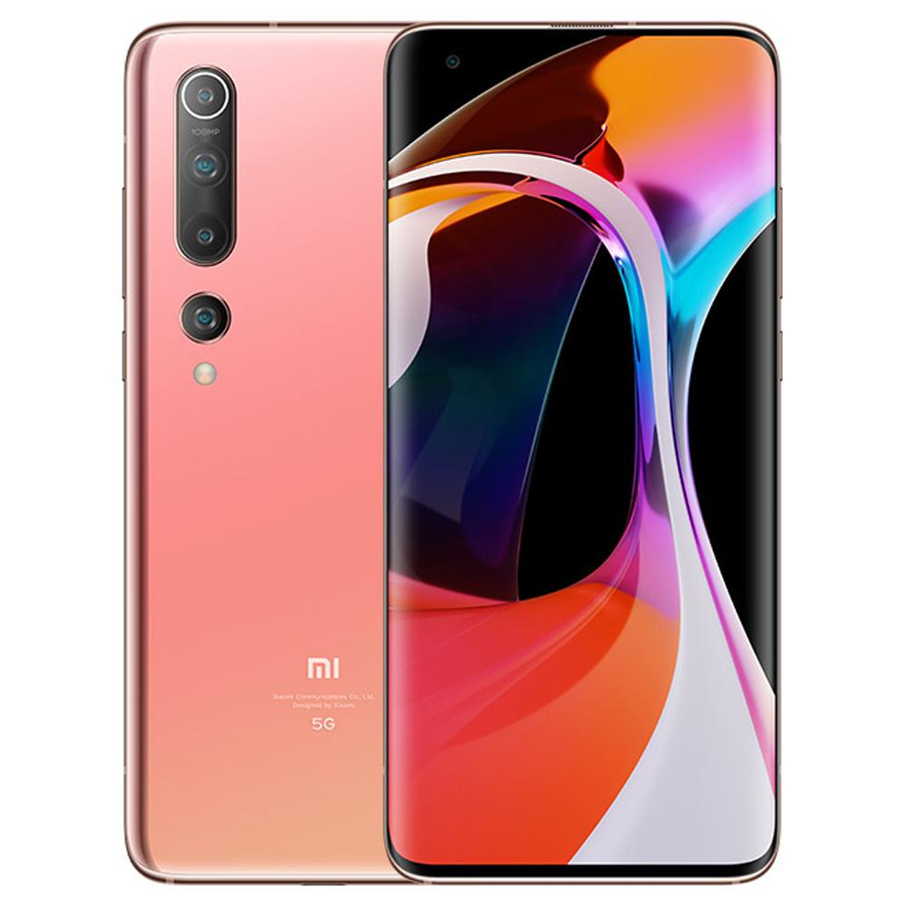 Xiaomi Mi 10 CN Version 5G Smartphone 6.67 Inch Screen Snapdragon 865 12GB RAM 256GB ROM Quad Rear Camera 4780mAh Large Battery Android 10.0 WiFi 6 Dual SIM - Gold