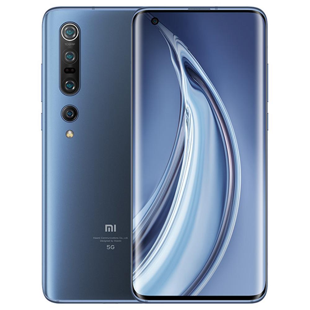 Xiaomi Mi 10 Pro CN Verison 5G okostelefon, 6.67 hüvelykes, Snapdragon 865 8 GB RAM, 256 GB ROM Négyes hátsó kamera, Android 10.0 4500mAh, nagy akkumulátor - kék