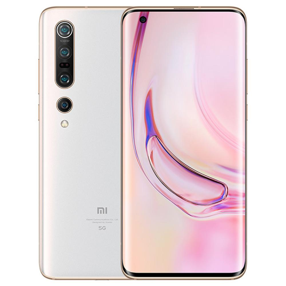Xiaomi Mi 10 Pro CN Verison 5G Smartphone 6.67 Inch Screen Snapdragon 865 8GB RAM 256GB ROM Quad Rear Camera Android 10.0 4500mAh Large Battery - White