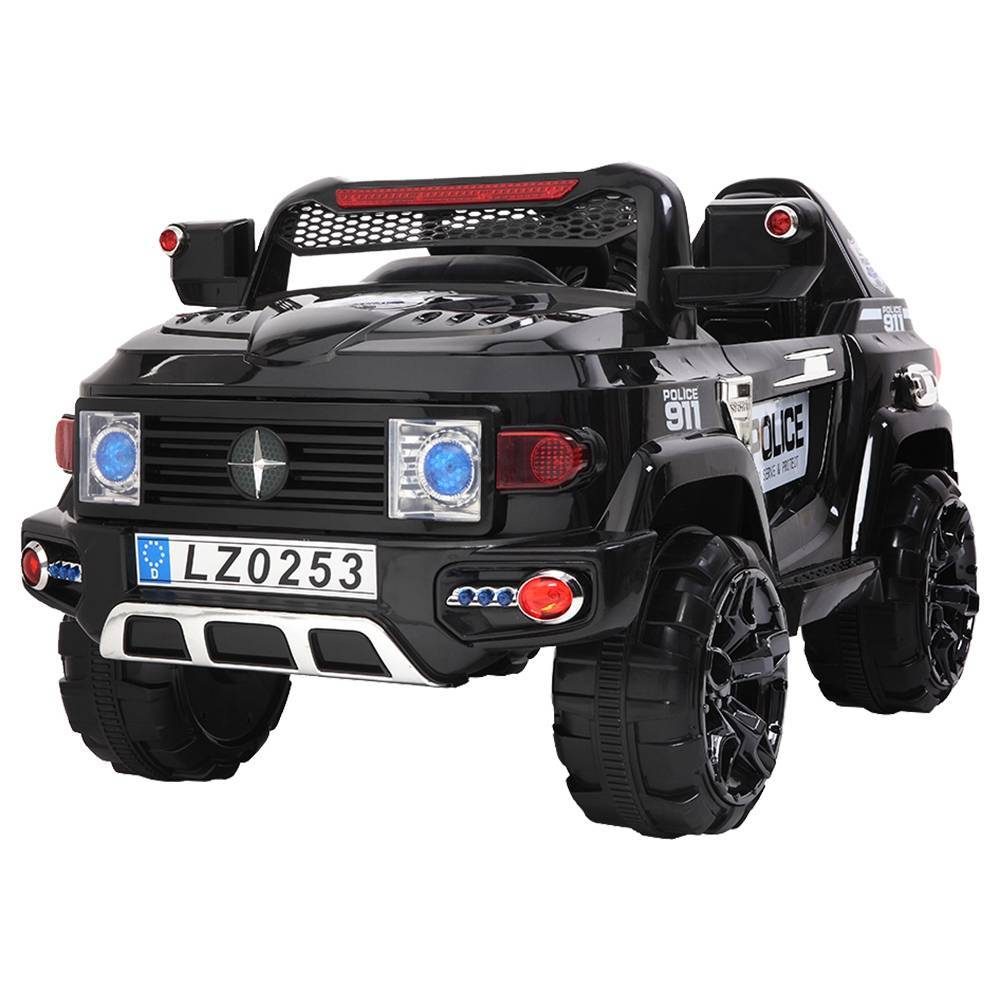 LEADZM LZ-9922 Off-Road Police Car Double Drive 35W*2 Battery 12V7AH*1 With 2.4G Remote Control Black