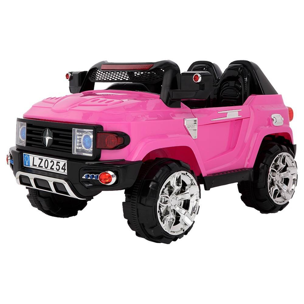 LEADZM LZ-9922 Off-Road Vehicle Double Drive 35W*2 Battery 12V7AH*1 With 2.4G Remote Control - Pink