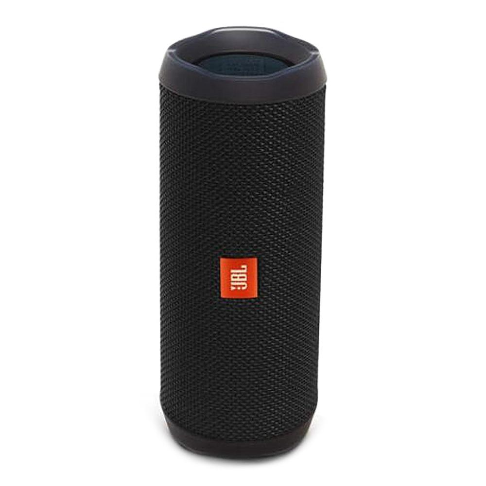 JBL Flip 4 Wireless Bluetooth Speaker Music Kaleidoscope 4 Bass IPX7 Water-resistant - Black