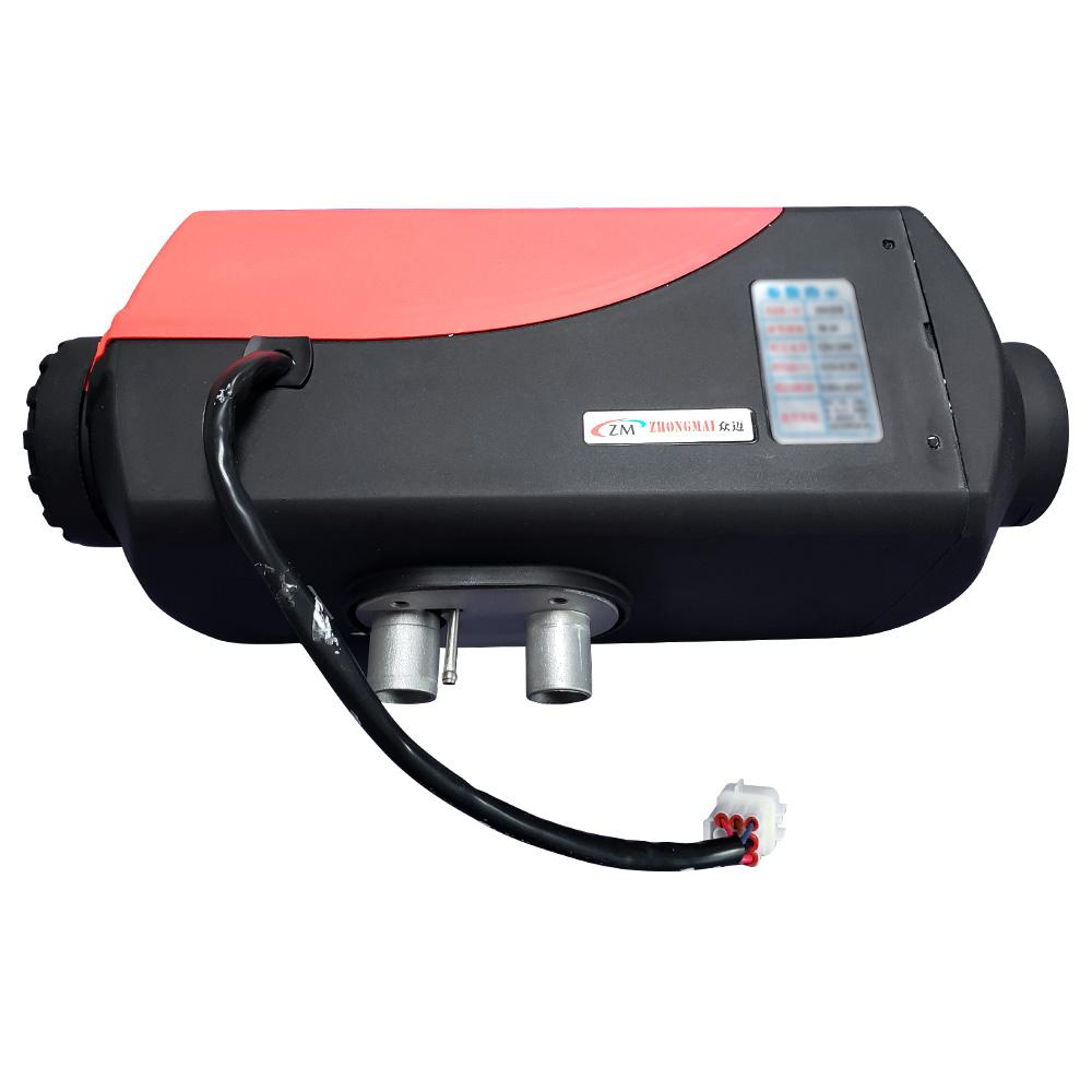 GYL015-12V Diesel Fuel Parking Heater Split Machine 5000W Power LCD Display Japanese Kyocera Igniter For Small Cars - Red фото