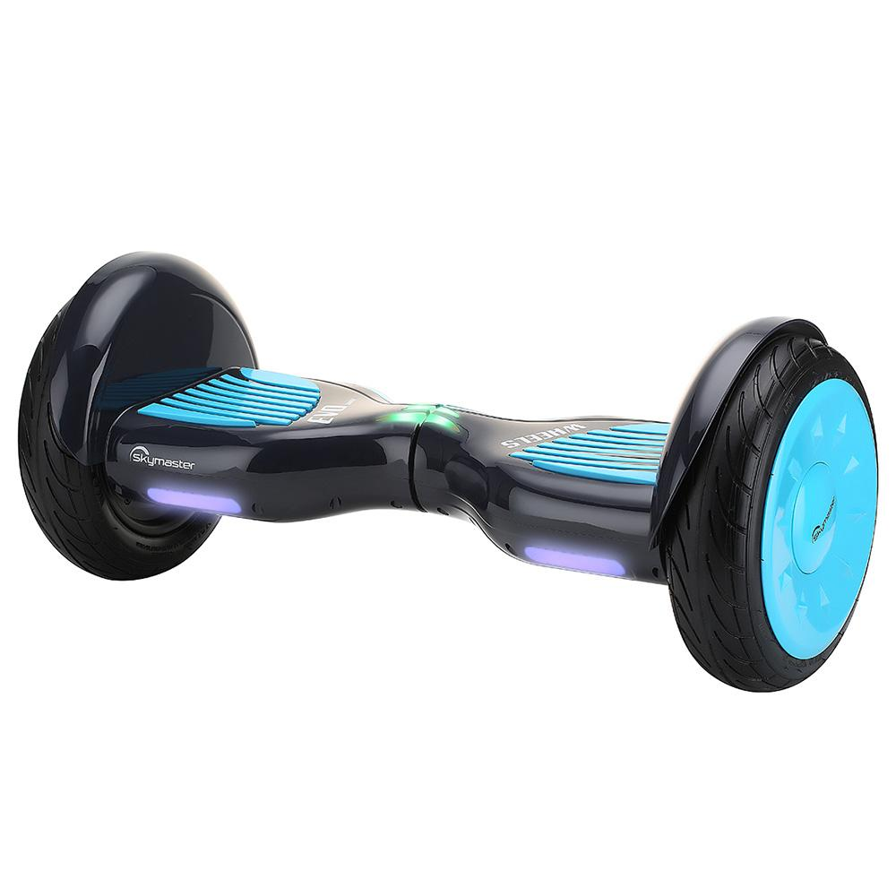 Skymaster N10S Gallop Balancing Electric Scooter 10 Inch Vacuum Tire 700W Brushless Motor Up To 15km Range 4400mAh Battery - Blue Black