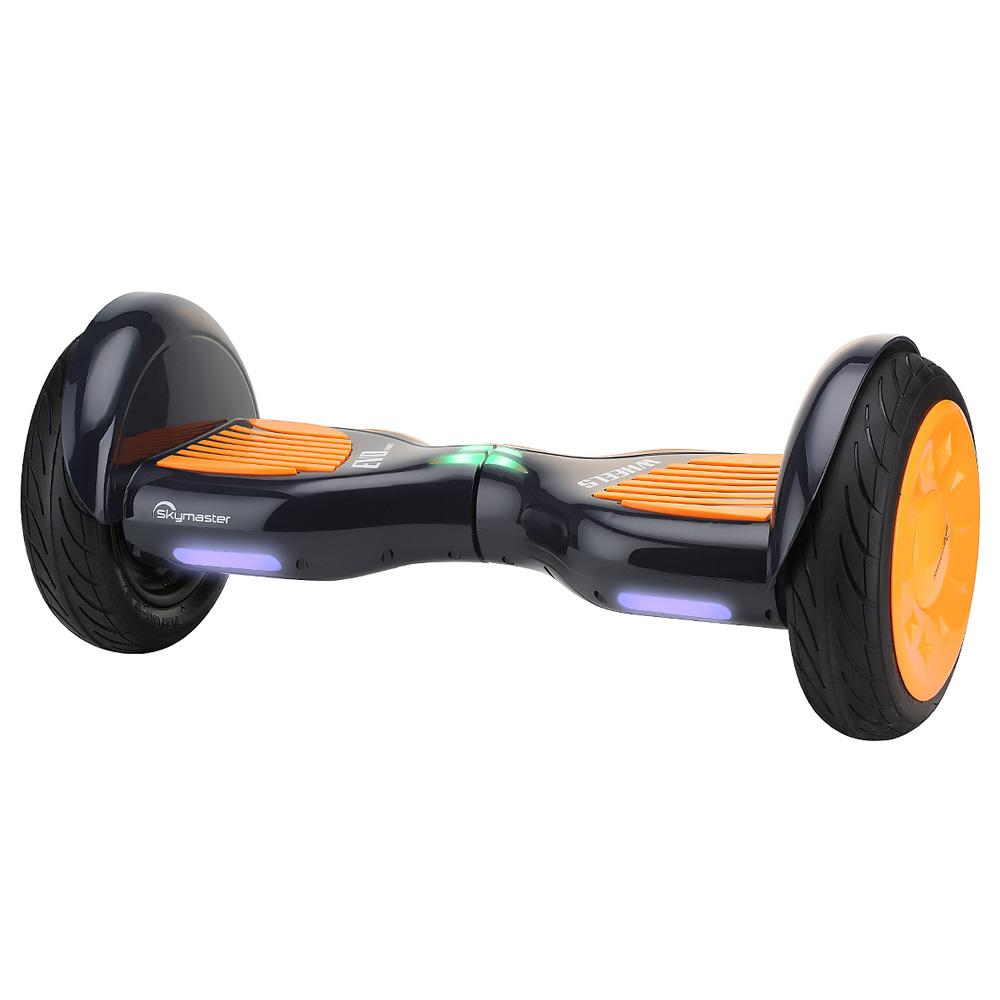 Skymaster N10S Gallop Balancing Electric Scooter 10 Inch Vacuum Tire 700W Brushless Motor Up To 15km Range 4400mAh Battery - Orange  Black