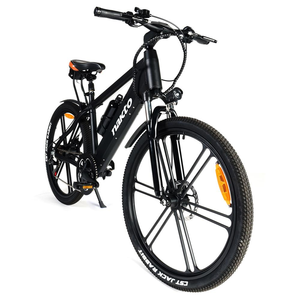 NAKTO GYL018 Ranger Electric Bicycle 350W Motor 26*4.0 Wide Tires Max Speed 25km/h Dual Disc Brake LCD Meter