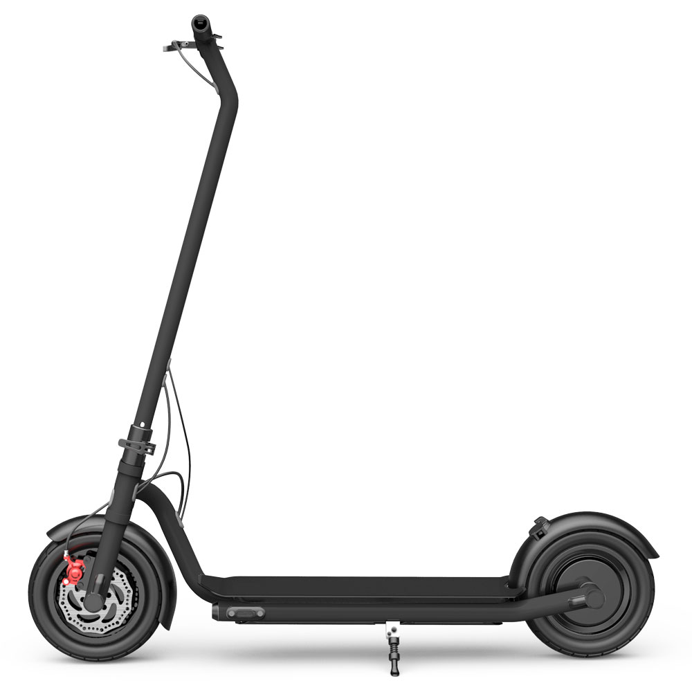 N7 Folding Electric Scooter 10 Inch Tire 350W Brushless Motor Max 25km/h Up To 20 KM Range - Black