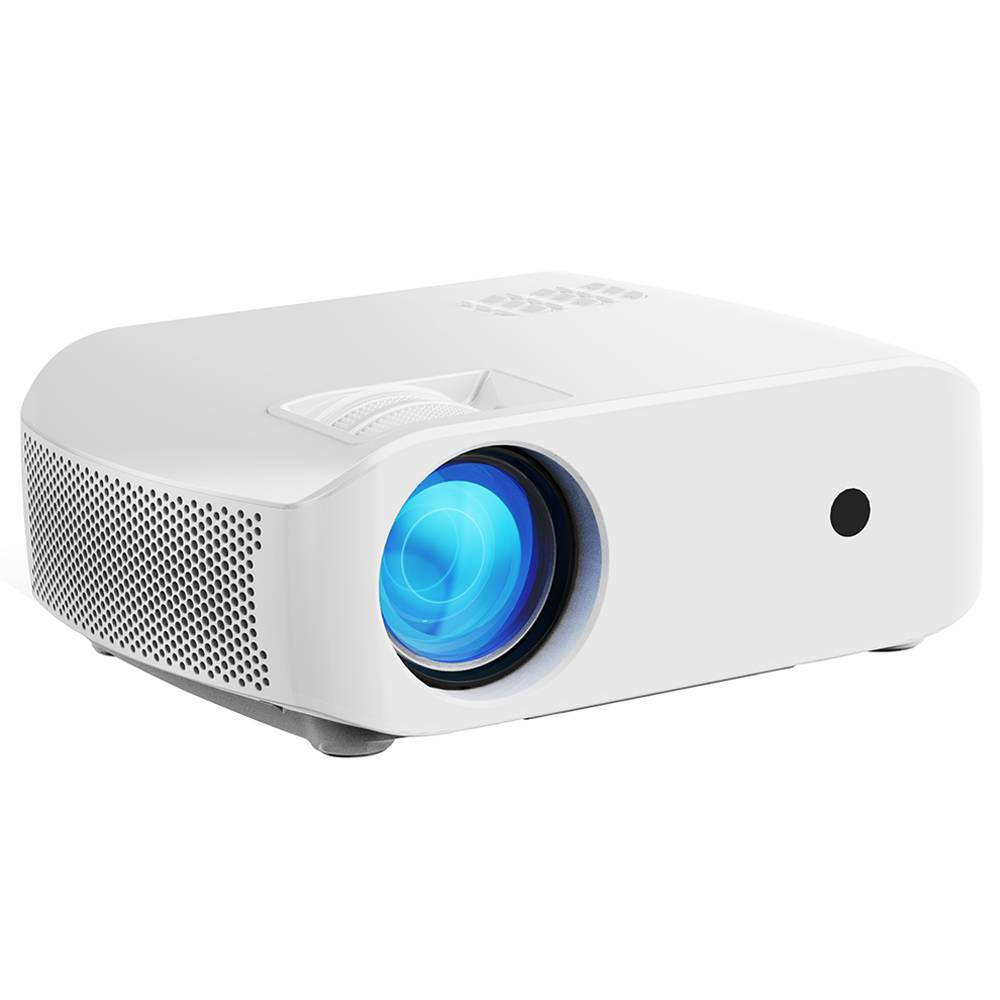 VIVIBRIGHT F10 720P LCD Projector 2800 Lumens 1080P Video Decode 15000:1 Contrast Ratio 300'' Image Size HiFi Stereo Sound 5000 Hours LED Lamp Life - White